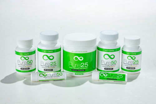 Pure Relief CBD L-Theanine Product Line