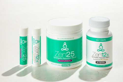 Zen Relaxation CBD L-Theanine Product Line