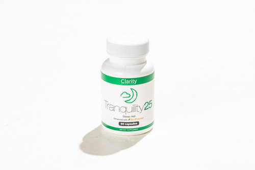 Tranquility Sleep CBD Bioperine Terpenes 60ct Capsule Bottle