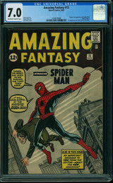 Amazing Fantasy #15 CGC 7.0 Hits $191K in ComicLink Focused Auction