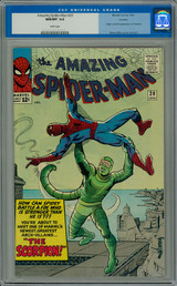 Records Set in Pedigree's May Spider-Man Auction