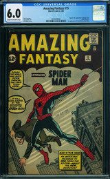 Two Copies of Amazing Fantasy #15 Break Records in ComicLink Auction