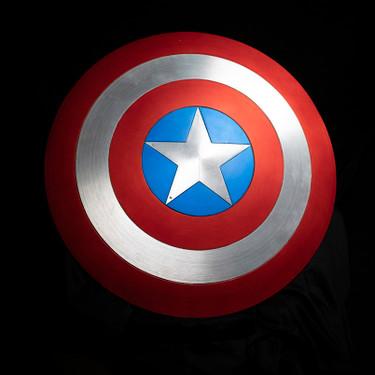 Avengers: Endgame Chris Evans' Screen-Used Captain America Shield in Hake's Auction