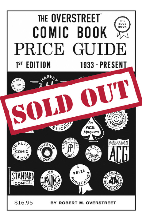 The Overstreet Comic Book Price Guide # 1 Facsimile SC