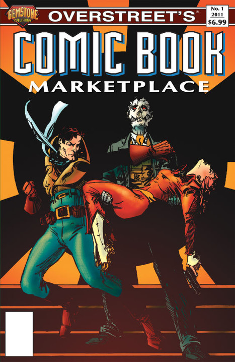 A small number of copies of the limited edition variant cover edition of Comic Book Marketplace #1 are available...