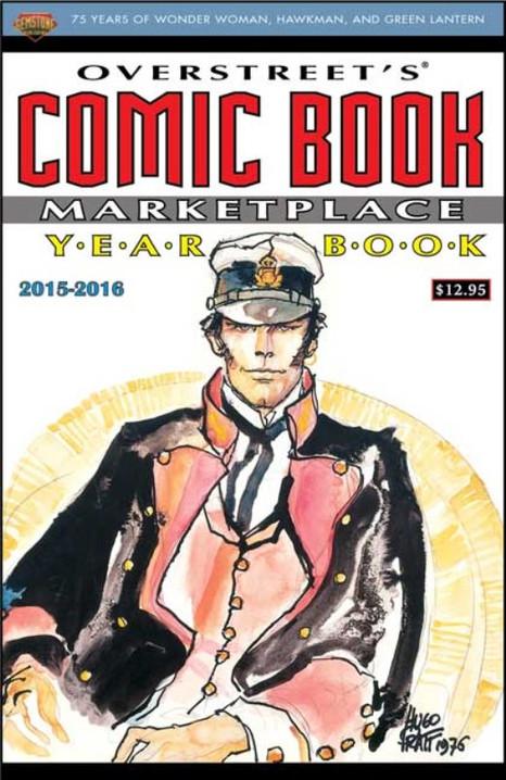 Cover by Hugo Pratt
