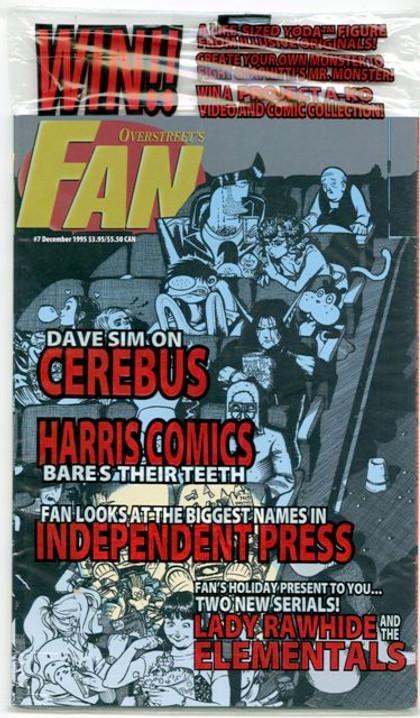 Overstreet's FAN #7 - Indy Jam Variant