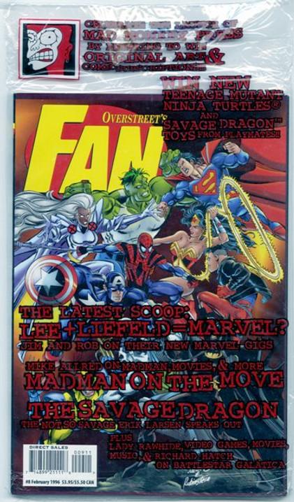 Overstreet's FAN #9 - Marvel vs. DC
