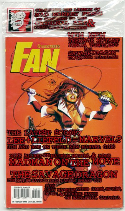 Overstreet's FAN #9 - Lady Rawhide Variant