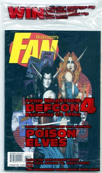 Overstreet's FAN #10 - Poison Elves Variant