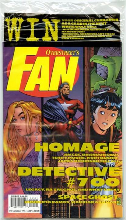 Overstreet's FAN #15 - Homage Comics