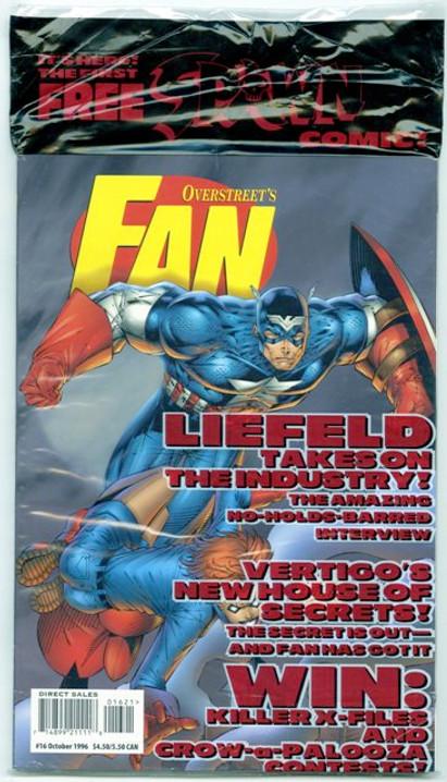 Overstreet's FAN #16 - Captain America