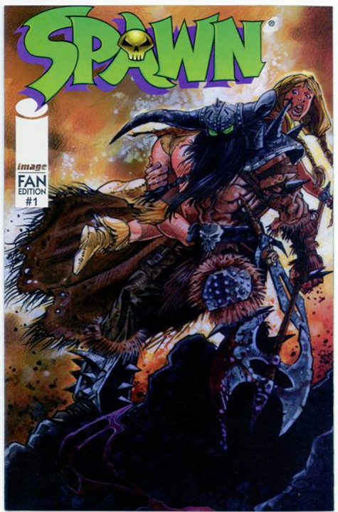 Originally available polybagged with issues of Overstreet's FAN in August 1996
