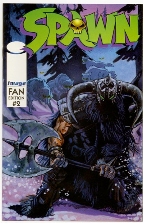 Originally available polybagged with issues of Overstreet's FAN in September 1996