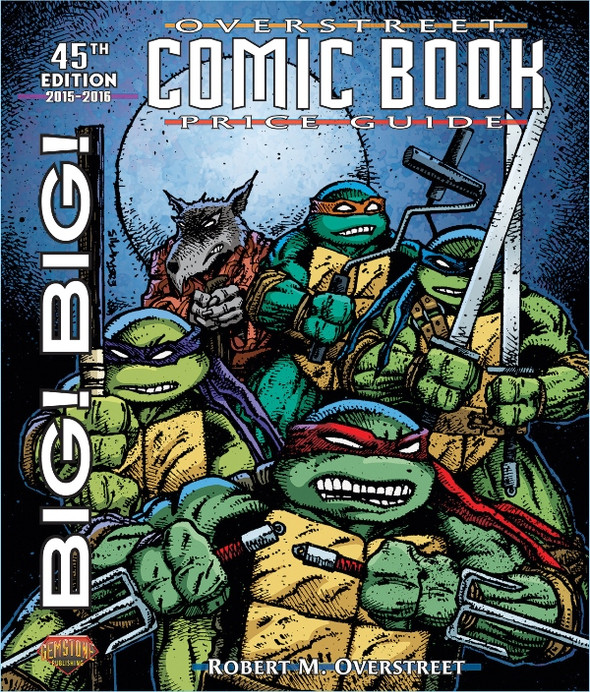 (2015) Cover by Kevin Eastman