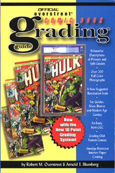 The Overstreet Comic Book Grading Guide 2nd Edition