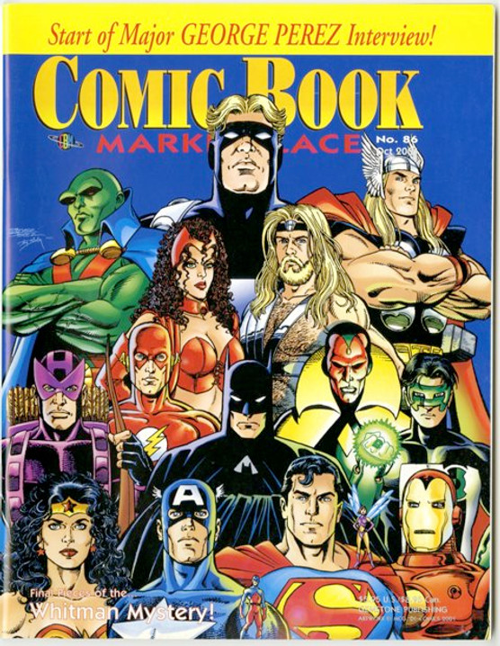 Comic Book Marketplace Volume 3 # 86 _ Cover B