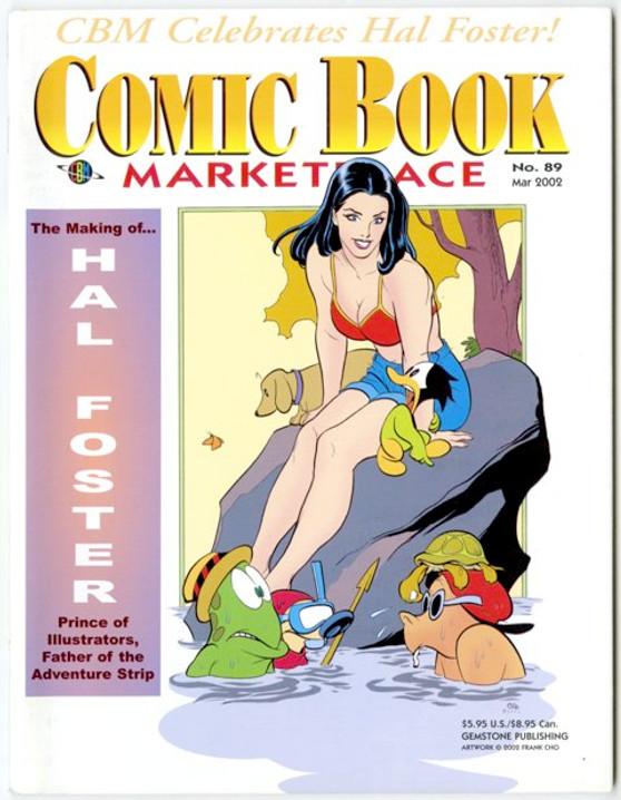 Comic Book Marketplace Volume 3 # 89 _ Cover B