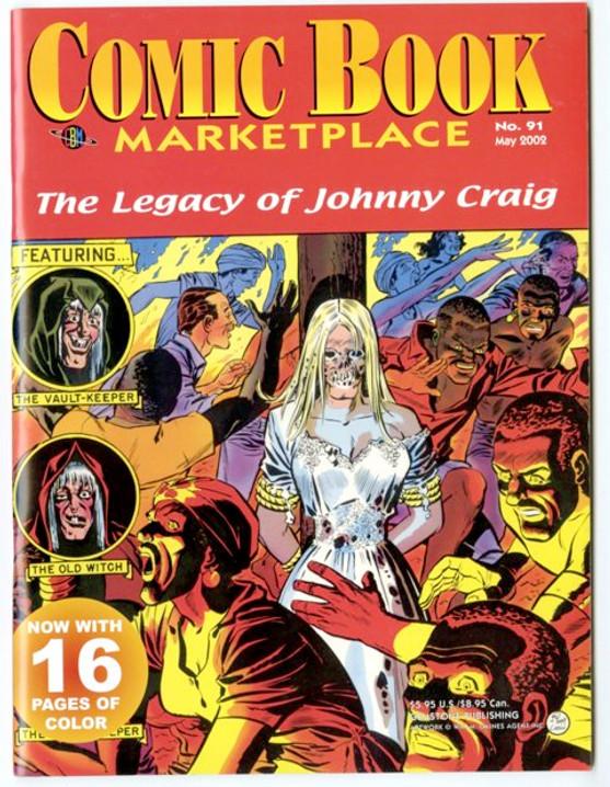 Comic Book Marketplace Volume 3 # 91 _ Cover A