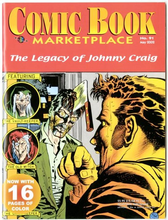 Comic Book Marketplace Volume 3 # 91 _ Cover B