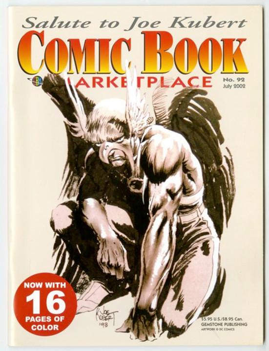 Comic Book Marketplace Volume 3 # 92 _ Cover A