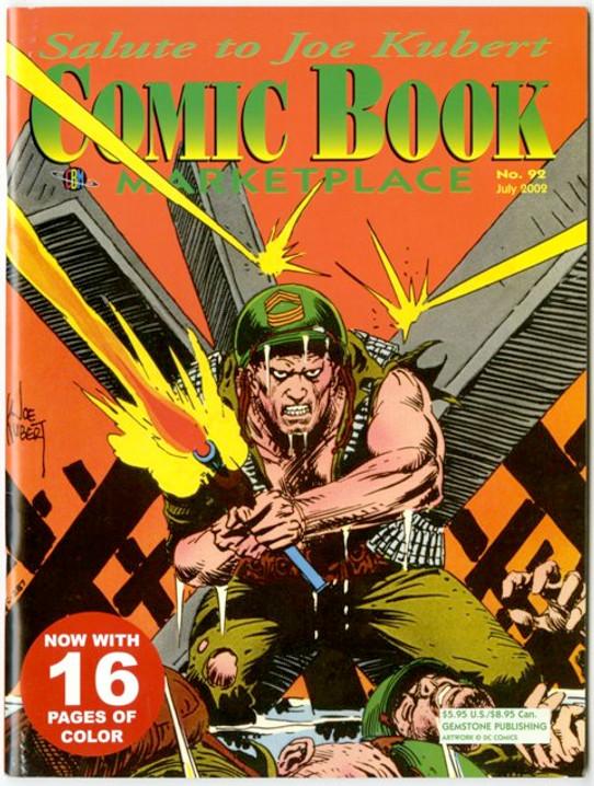 Comic Book Marketplace Volume 3 # 92 _ Cover B