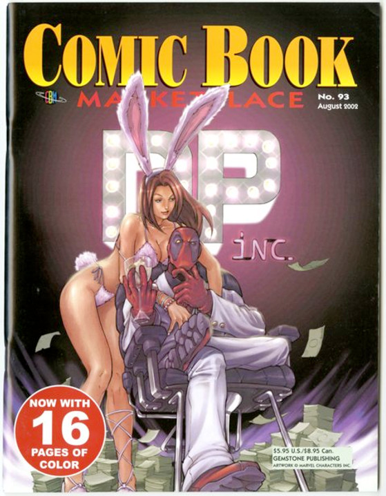 Comic Book Marketplace Volume 3 # 93 _ Cover B