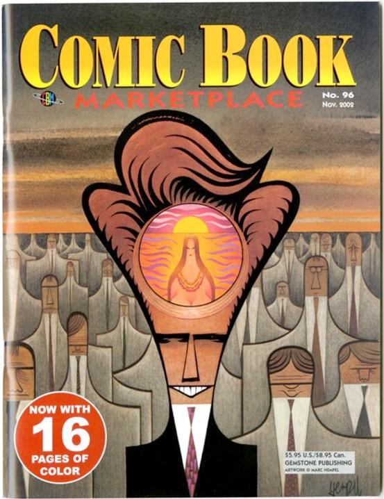 Comic Book Marketplace Volume 3 # 96 - Cover B