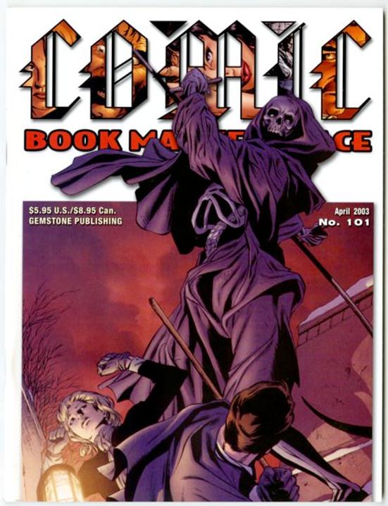 Comic Book Marketplace Volume 3 #101 _ Cover B
