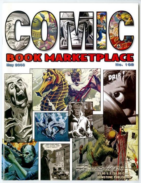 Comic Book Marketplace Volume 3 #102 _ Cover B