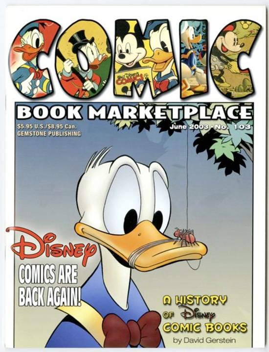 Comic Book Marketplace Volume 3 #103