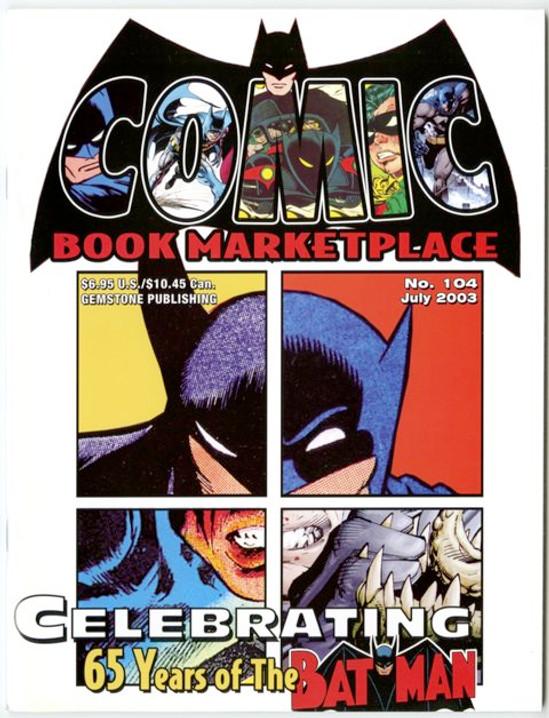 Comic Book Marketplace Volume 3 #104