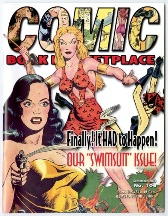 Comic Book Marketplace Volume 3 #106