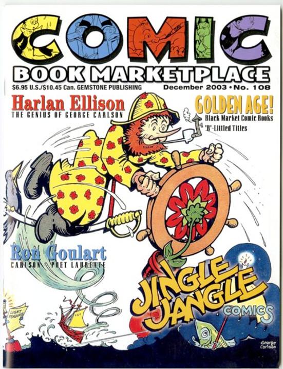 Comic Book Marketplace Volume 3 #108