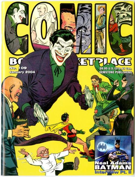 Comic Book Marketplace Volume 3 #109 _ Cover A