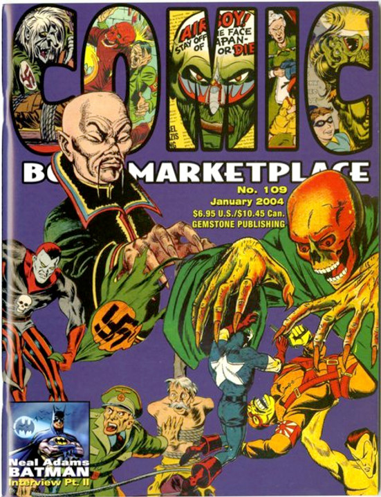 Comic Book Marketplace Volume 3 #109 _ Cover B