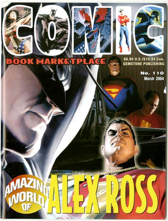 Comic Book Marketplace Volume 3 #110 _ Cover A