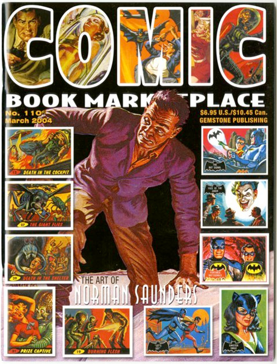 Comic Book Marketplace Volume 3 #110 _ Cover B