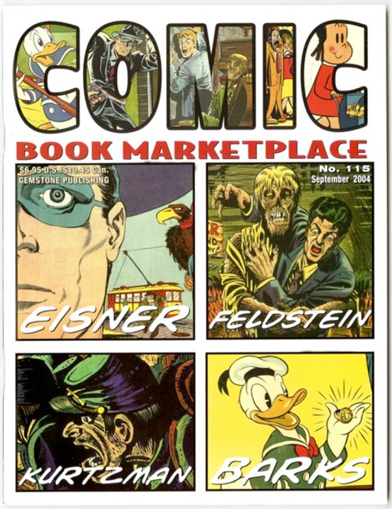 Comic Book Marketplace Volume 3 #115