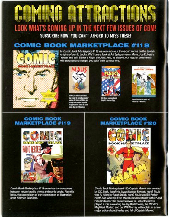 Comic Book Marketplace Volume 3 #117