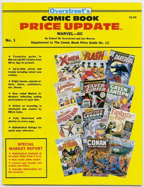 Overstreet's Comic Book Price Update #1