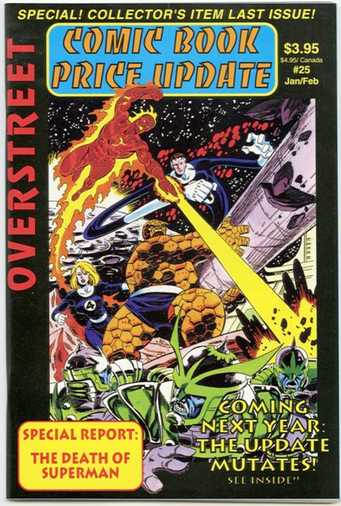 Overstreet's Comic Book Price Update #25