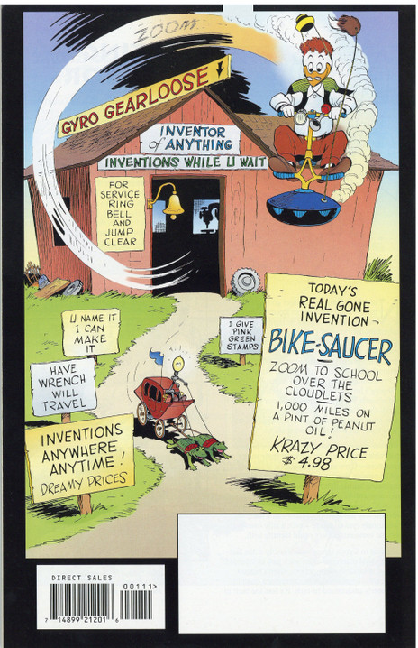 FCBD 2008: Walt Disney's Gyro Gearloose
