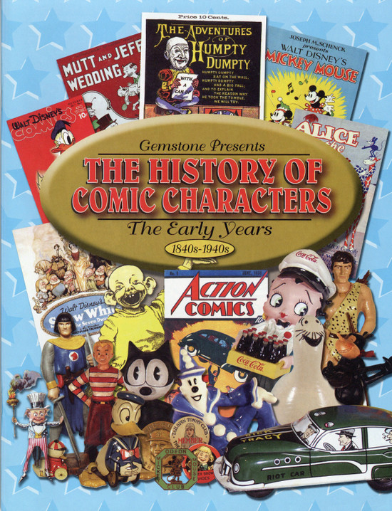 The History of Comic Characters: The Early Years 1840s-1940s