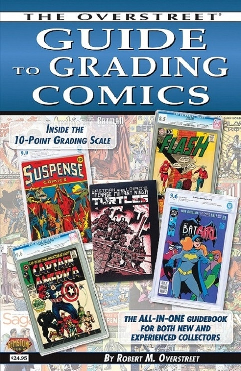 The Overstreet Guide to Grading Comics 5th Edition