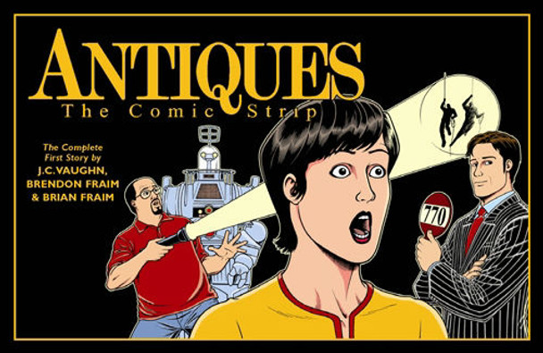 """The collected edition of """"Antiques: The Comic Strip"""", which ran weekly in Antique Trader beginning in June 2006."""