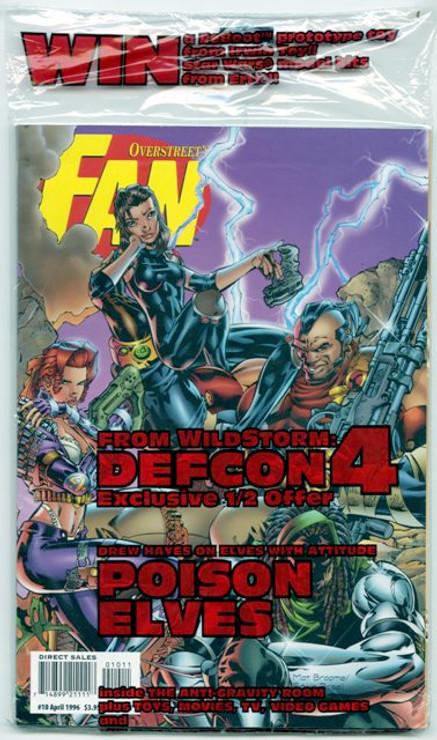 Overstreet's FAN #10 - Defcon 4