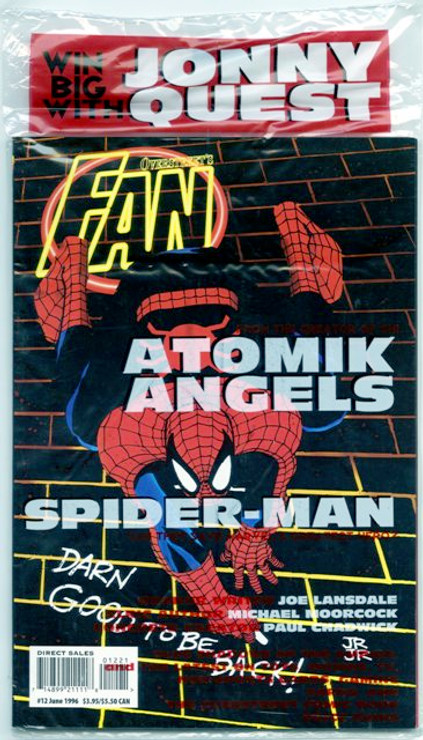 Overstreet's FAN #12 - Spider-Man Variant
