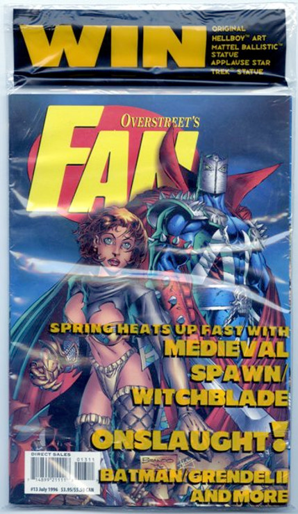Overstreet's FAN #13 - Medieval Spawn/Witchblade