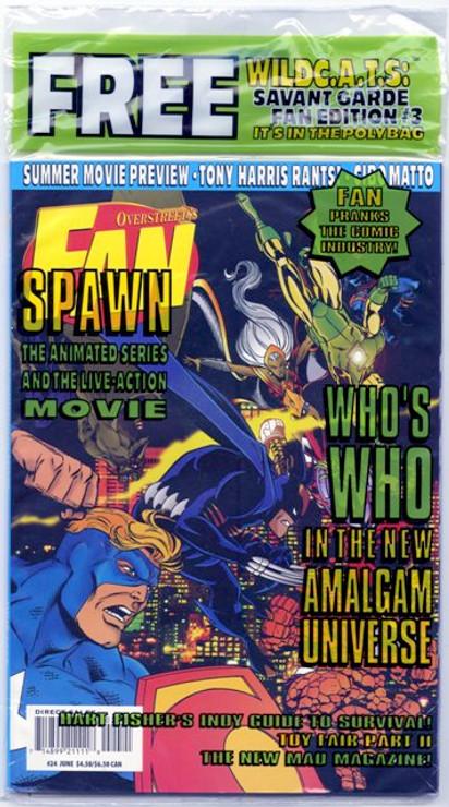 Overstreet's FAN #24 - Amalgam Comics